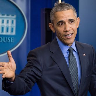 U.S. President Barack Obama final end of year news conference.
