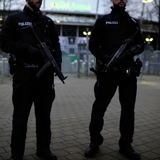 Security Tightened In Hanover Before Germany v Netherlands Match