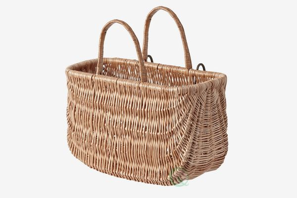 Wicker Shopping Basket, Bike Basket