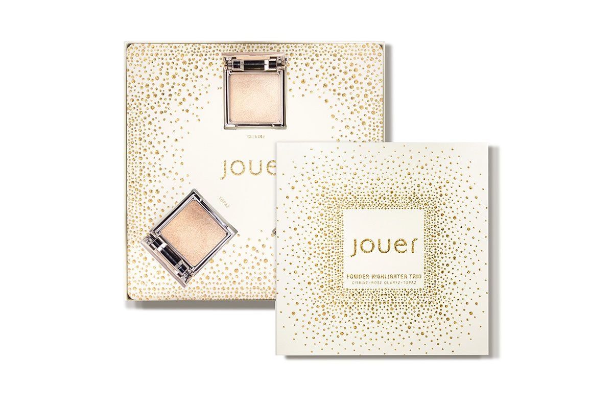 Jouer Cosmetics Powder Highlighter Trio Set 1