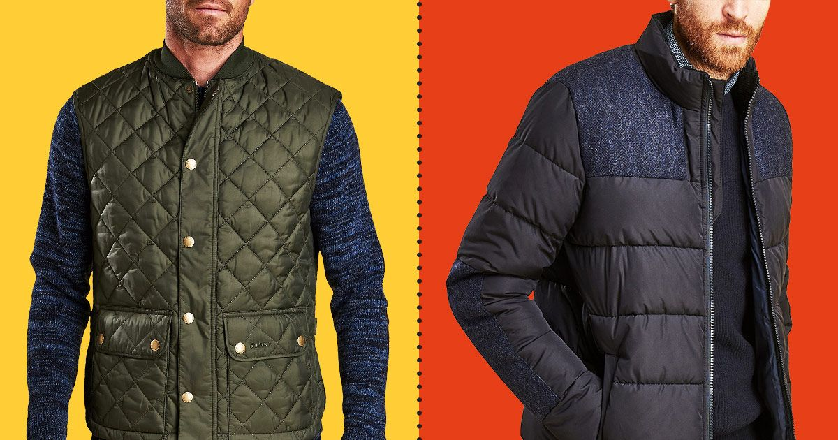 Quilted Barbour Jackets and Vests for Men Are Up to 50 Percent Off at Macy's