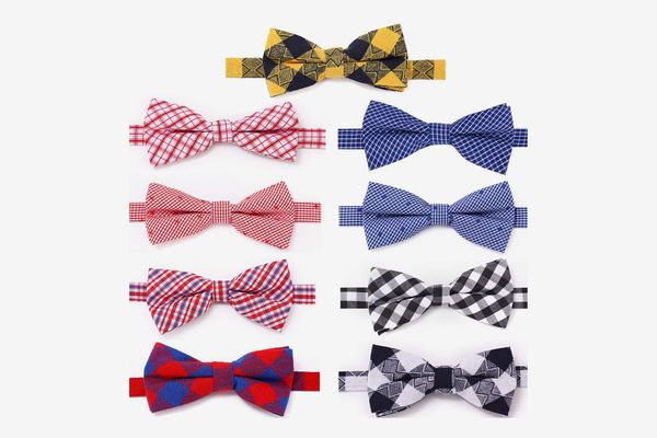 Freewindo Dog Bow Ties, 9 Pieces
