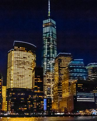 One World Trade Center (the tallest skyscraper in the Western Hemisphere and 4th tallest in the wor