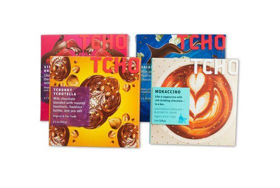 "Based in San Francisco and headed up by Louis Rossetto and Jane Metcalfe, the founders of <i>Wired</i>, TCHO combines chocolate-making with the mentality of a tech start-up. The result: high-quality chocolate in innovative flavors like strawberry-rhubarb pie, which can be found in this four-bar sampler. <a href=""http://www.tcho.com/shop/chocolate/tchopairings/91601"">TCHO Pairings Sampler Box</a> ($31.95)"