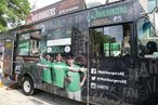 You cannot escape Wahlburgers when Wahlburgers is on wheels.