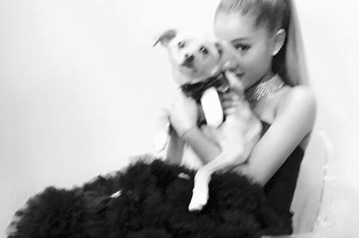 Tulle won't quit. Ariana Grande/Instagram