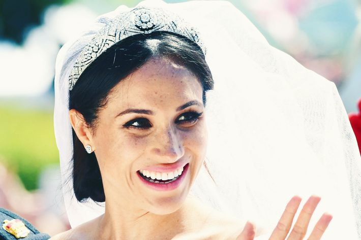 Meghan Markle on her royal wedding day.