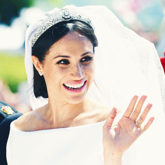 Meghan Markle on her royal wedding day.