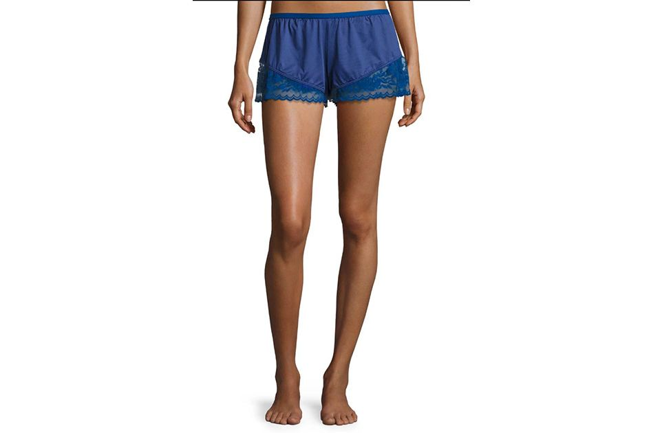 Cosabella Cosmopolitan Lace-Trimmed Boxer Shorts