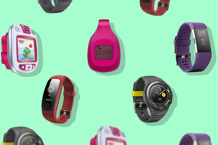 runme fitness tracker, fitbit charge 2, fitbit zip, leapfrog band activity tracker, and huawei watch 2 sport  - strategist best fitness gear and best fitness trackers