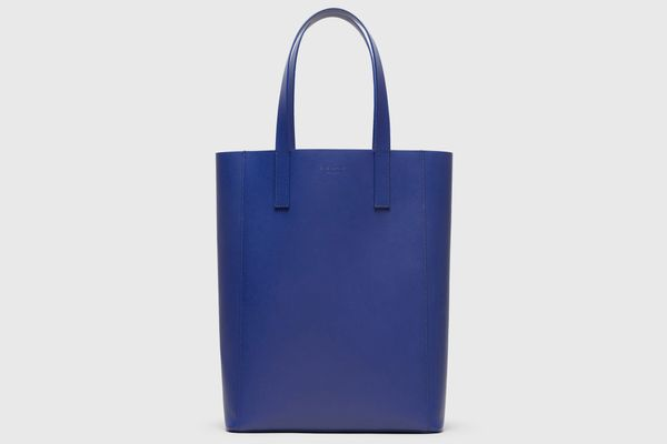 Everlane The Day Magazine Tote in Marine