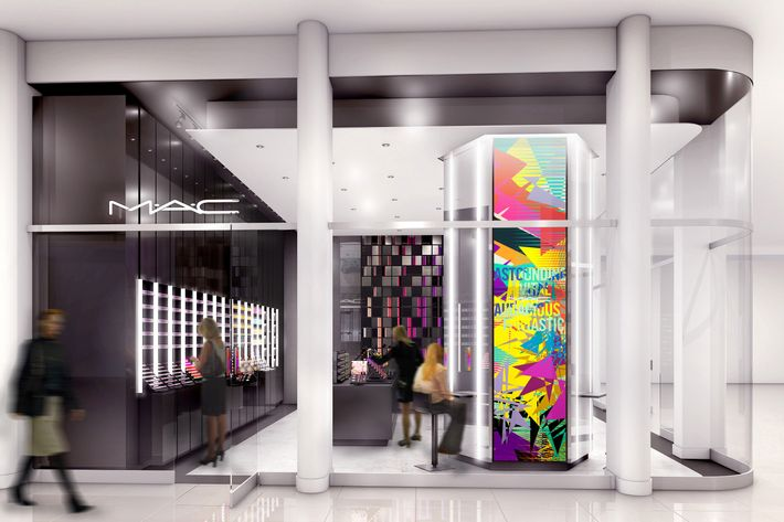 M.A.C. Cosmetic's newest store is going to be at the World Trade Center.
