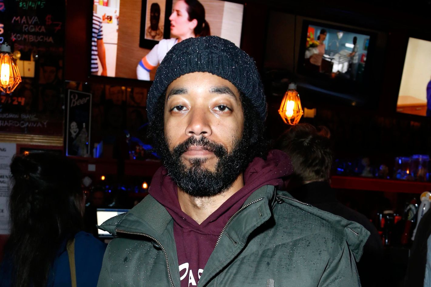 Wyatt Cenac==ADULT SWIM'S Finale Party for DELOCATED==Comedy Bar, New York==March 7, 2013.