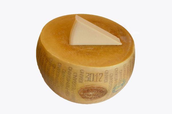 Full Wheel of Parmigiano Reggiano Cheese