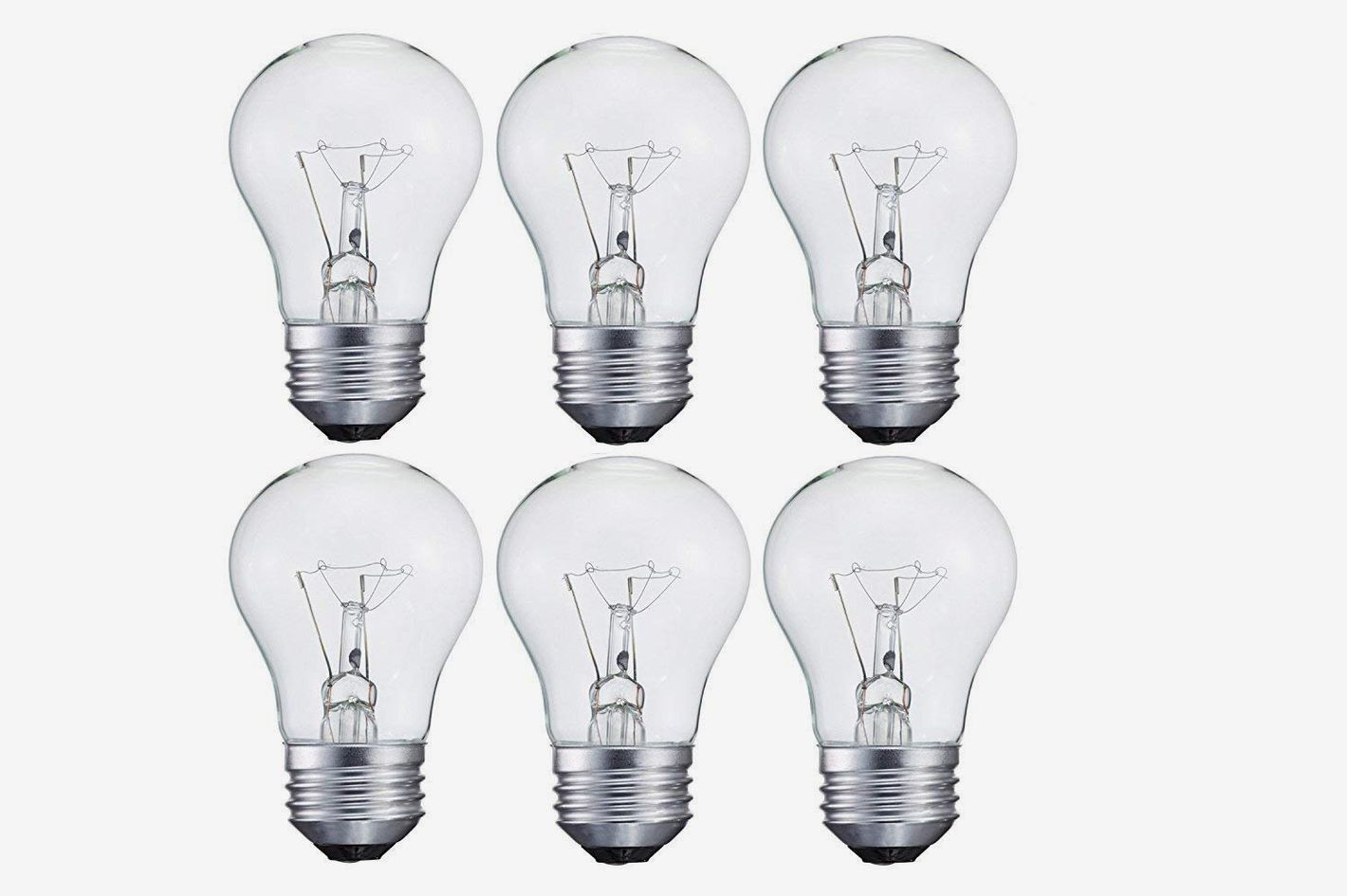 15-Watt Decorative A15 Incandescent Light Bulb, 6-Pack
