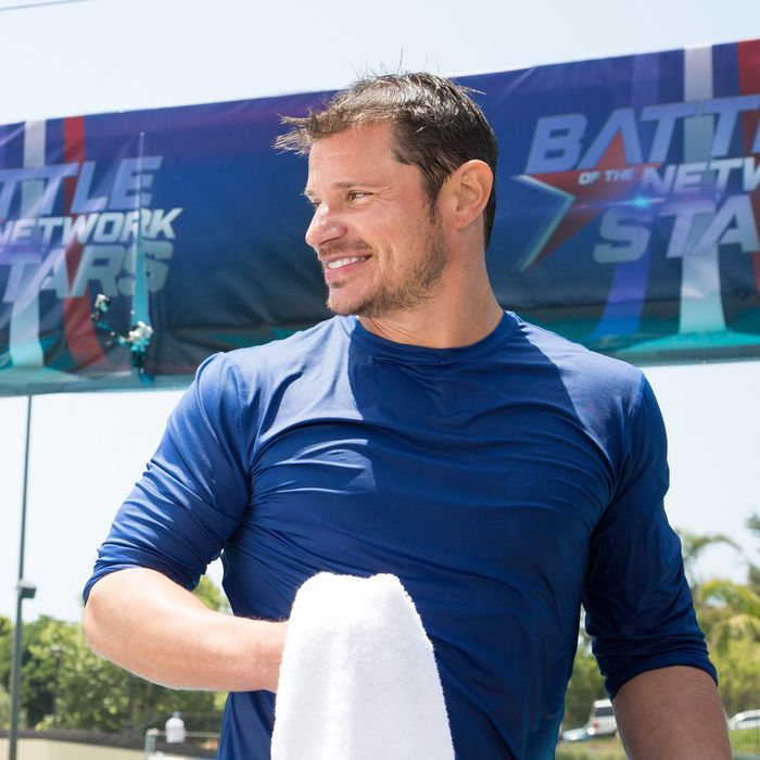 Nick Lachey Has Covered Up His 98 Degrees Tattoo