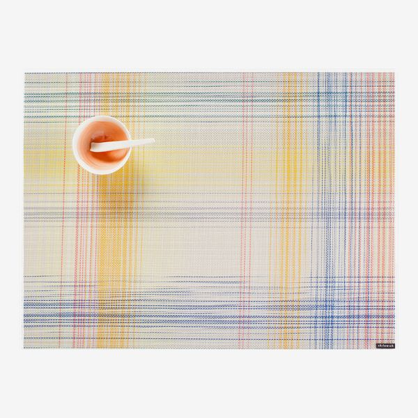 Chilewich Plaid Sorbet Place Mat