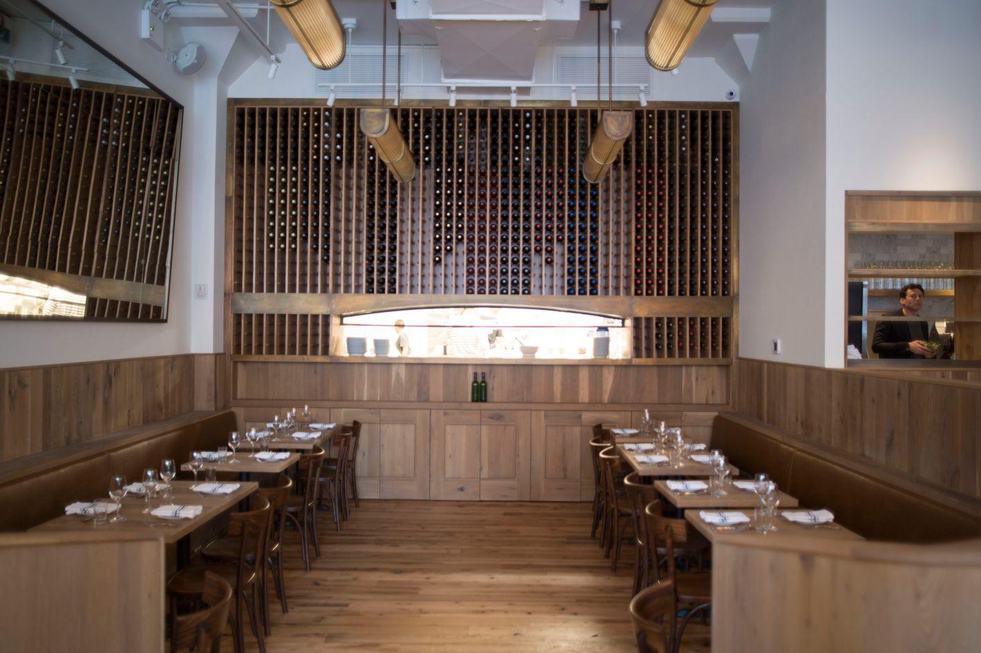 first look at café altro paradiso the estela team s new york take