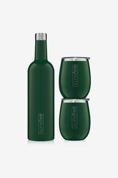 Winesulator Gift Set, Emerald Green