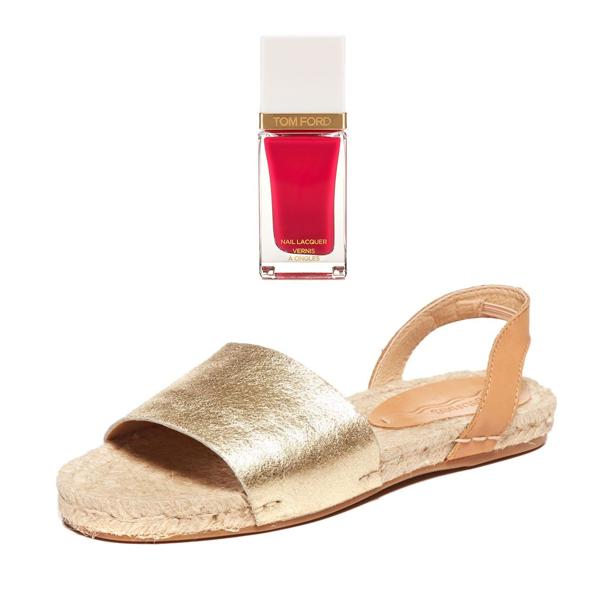 - 50 Flat Sandals and the Nail Polish to Match