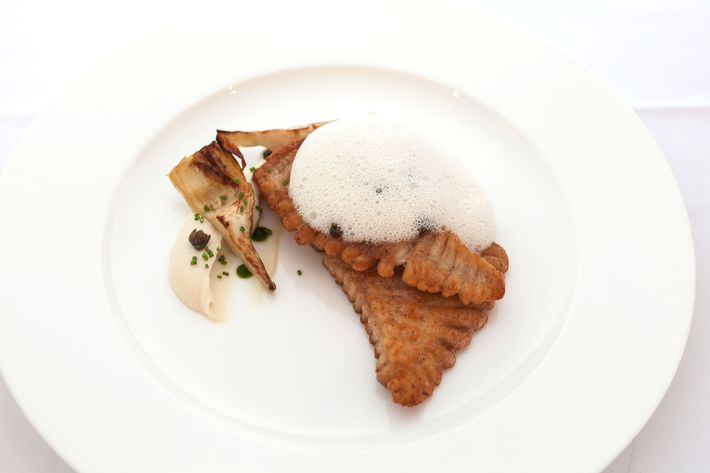A student-made skate dish.