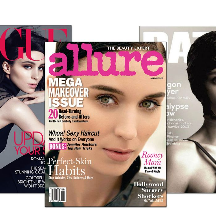 Rooney Mara's recent covers.