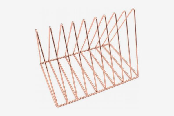 Triangle Metal Book Rack