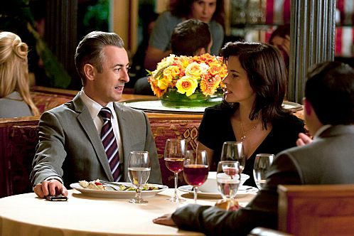 """""""Affairs of State""""--Eli (Alan Cumming) is approached by his ex-wife (guest star Parker Posey) to vet her for a possible political campaign, on THE GOOD WIFE, Sunday, Oct. 30 (9:00-10:00 PM ET/PT) on the CBS Television Network. Photo: Gabe Palacio/CBS ?2011 CBS Broadcasting Inc. All Rights Reserved."""