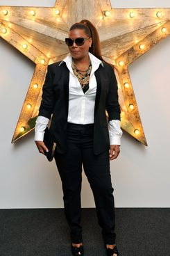 LONDON, ENGLAND - JULY 14:  Queen Latifah attends a party for Dolce And Gabbana hosted by Net-a-Porter at Westfield on July 14, 2011 in London, England.  (Photo by Gareth Cattermole/Getty Images)