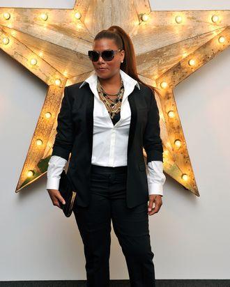 Queen Latifah.