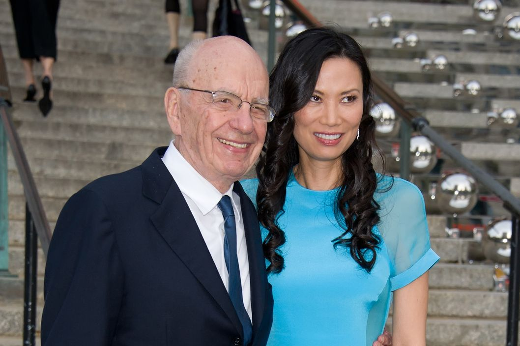 NEW YORK, NY - APRIL 27:  Rupert Murdoch and Wendi Deng attend the Vanity Fair party during the 10th annual Tribeca Film Festival at State Supreme Courthouse on April 27, 2011 in New York City.  (Photo by Gilbert Carrasquillo/FilmMagic)