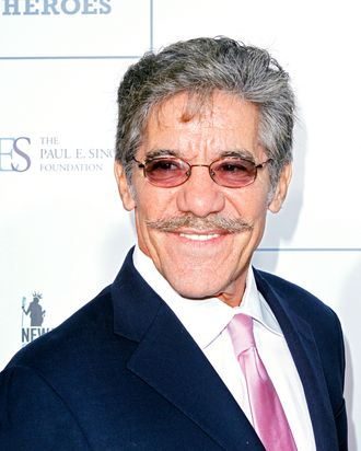 Geraldo Rivera attends 2011 Stand Up for Heroes at the Beacon Theatre on November 9, 2011 in New York City.