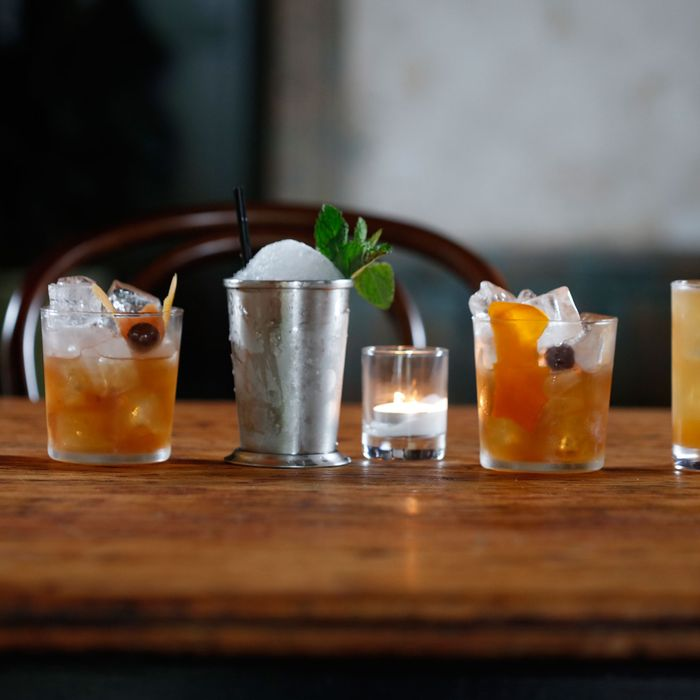 There will be cocktails made with Kings County Distillery whiskeys.