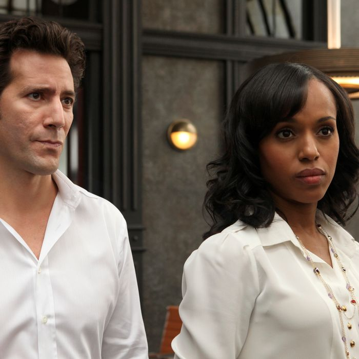 SCANDAL - In the series premiere,