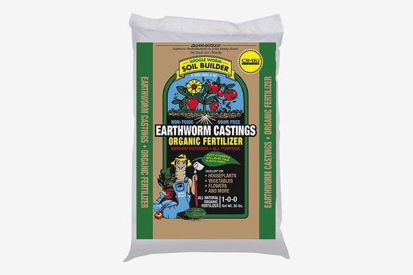 Unco Industries Wiggle Worm Organic Earthworm Castings Fertilizer, 4.5-Pound.