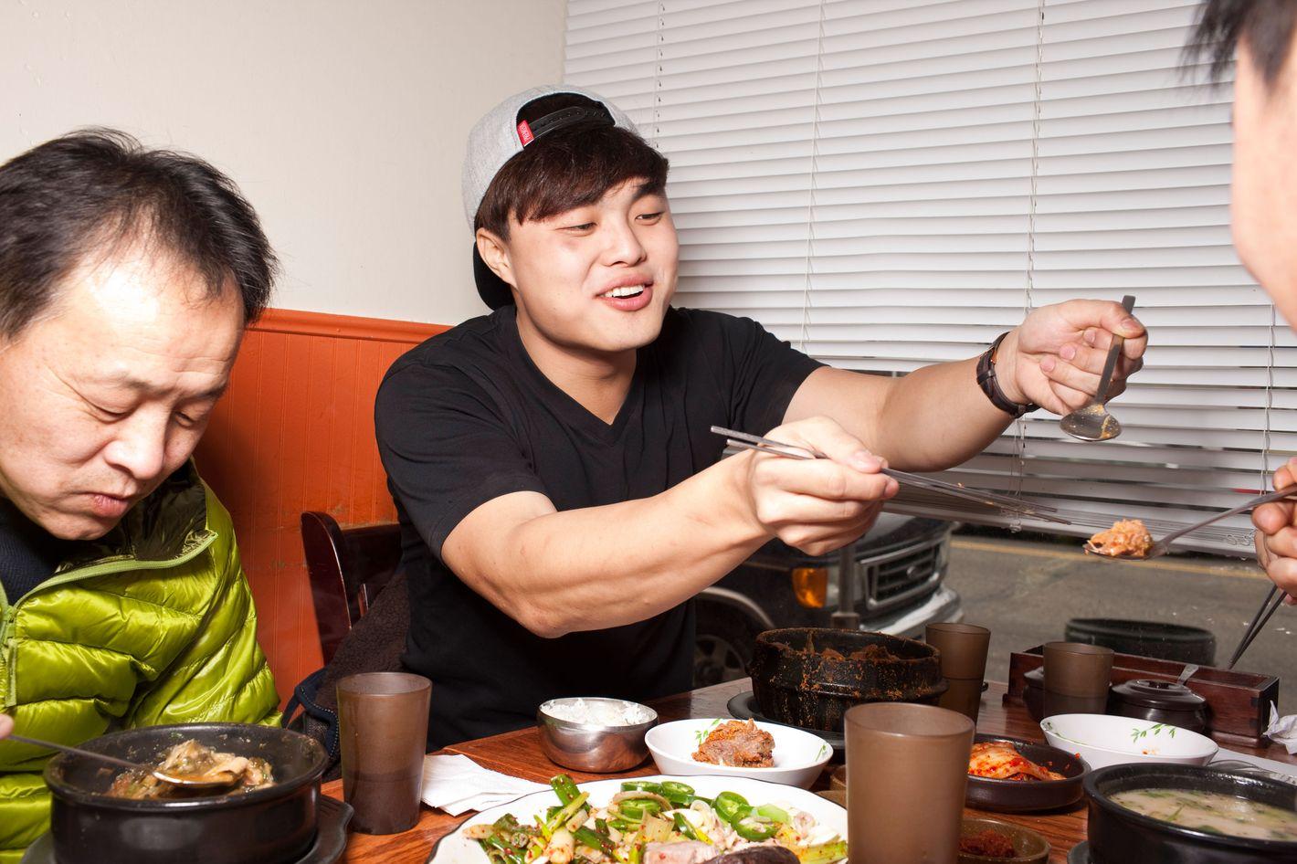 Hong, at Busan Gukbap in Fort Lee.