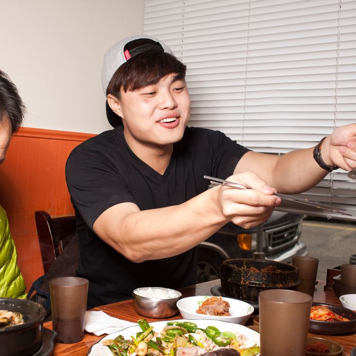 Hong, at Busan Gukbap in Fort Lee.