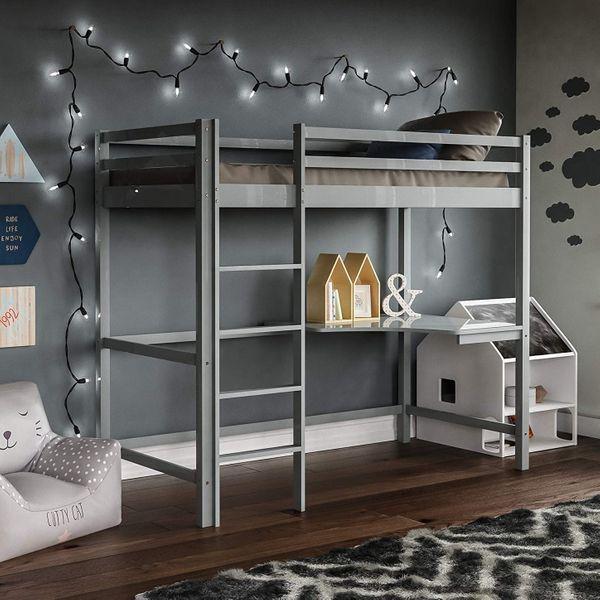 Vida Designs Sydney High Sleeper Bunk Bed