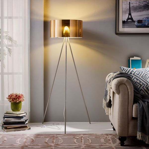 "Euro Style Collection Lisboa 61"" Inch Tripod Floor Lamp"