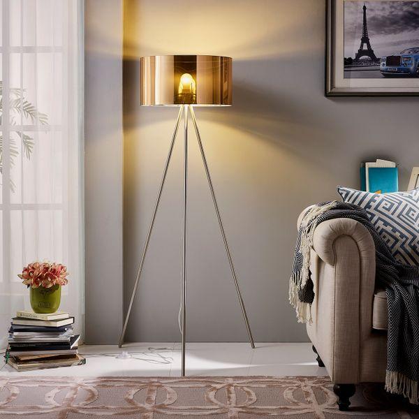 "Euro Style Collection Lisboa 61"" Inch Tripod Floor Lamp"