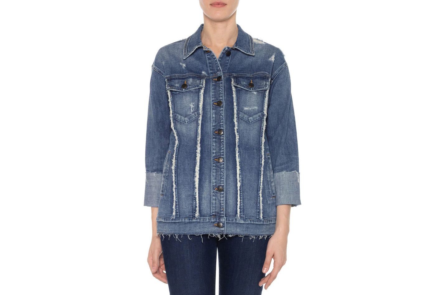 Joe's Collector's Edition Belize Deconstructed Denim Jacket