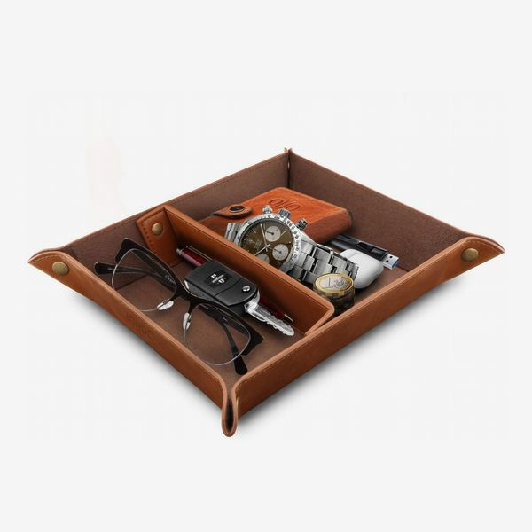 Londo Leather-Tray Organizer