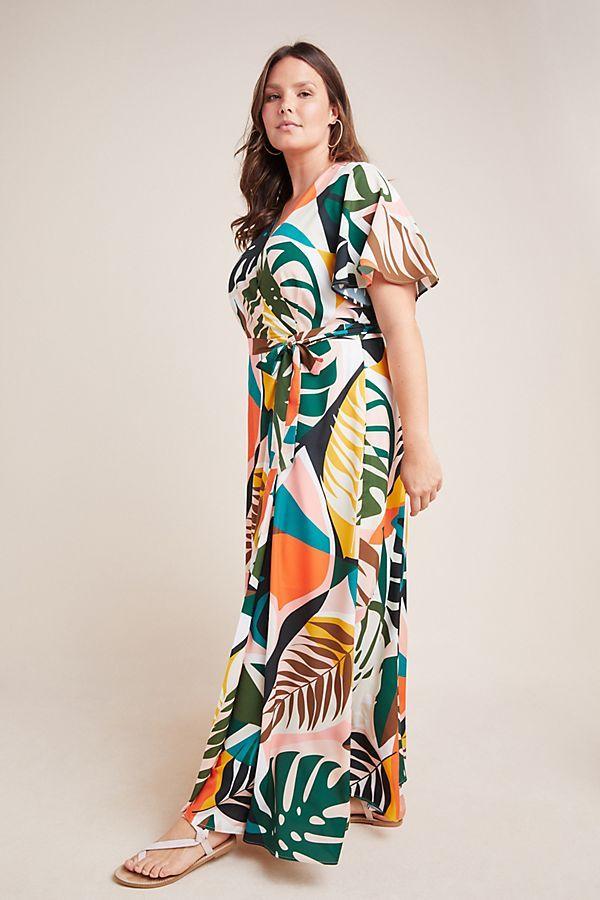 Hutch Tropical Maxi Dress