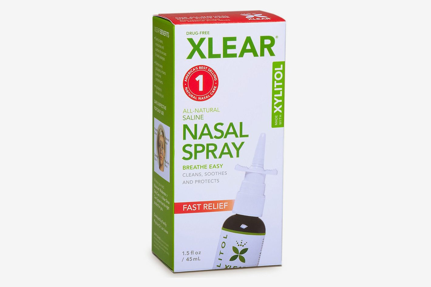 Xlear Natural Saline Nasal Spray