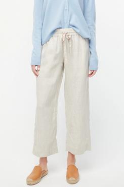 J.Crew Wide-Leg Linen Pant