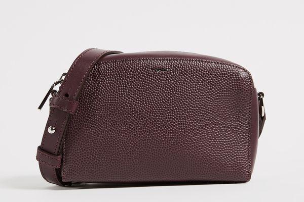 Shinola Curved Top Cross Body Bag