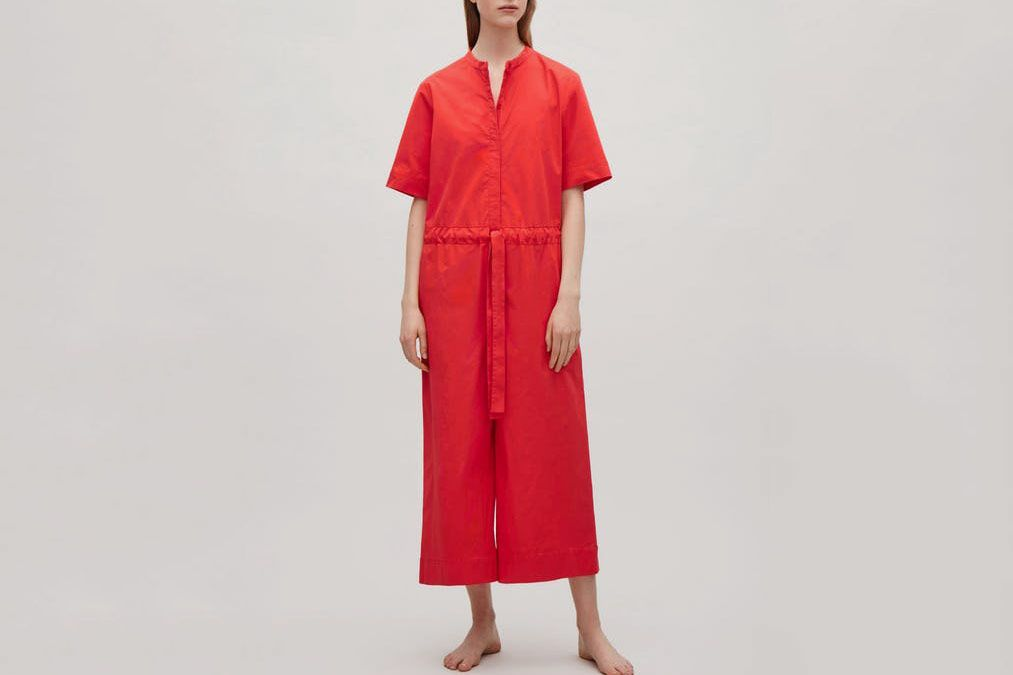 d280cbd17141 COS Drawstring jumpsuit - Signal Red