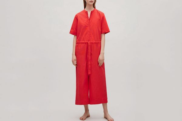 COS Drawstring jumpsuit - Signal Red