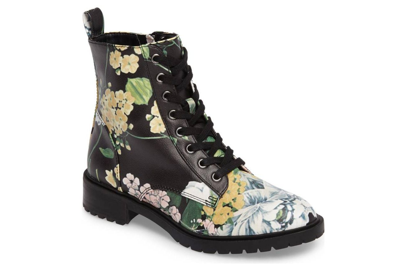 Officer Floral Boots