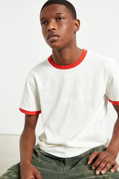 UO Recycled Cotton Ringer Tee